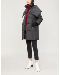 MICHAEL Michael Kors - Quilted Shell-down Coat - Lyst