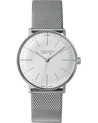Junghans - 027/3004.44 Max Bill Stainless Steel Watch - Lyst