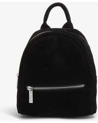 Skinnydip London - Effie Faux-suede Mini Backpack - Lyst