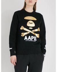 Aape | Logo-print Jersey Sweatshirt | Lyst