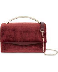 Eddie Borgo | Boyd Vanity Velvet Shoulder Bag | Lyst