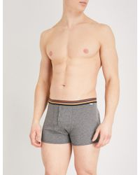 Paul Smith - Striped Classic-fit Cotton Boxers - Lyst