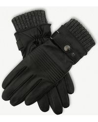 Dents - Water-resistant Lined Leather Gloves - Lyst