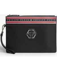 Philipp Plein - Minudier Faux Leather Logo Pouch - Lyst