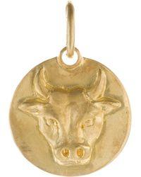 Annoushka - Mythology Taurus 18ct Yellow-gold Pendant - Lyst