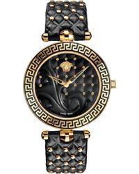 Versace - Vk703 0013 Vanitas Stainless Steel Watch - Lyst