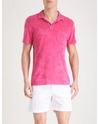 Orlebar Brown - Cotton Polo Shirt - Lyst