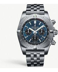 Breitling - Ab0115101c1a1 Chronomat B01 Chronograph 44 Steel Watch - Lyst