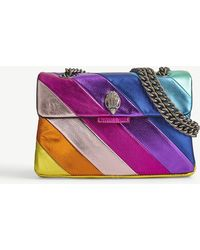 Kurt Geiger - Kensington Multi-coloured Leather Shoulder Bag - Lyst
