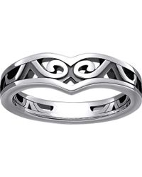 Thomas Sabo | Maori Sterling Silver Whale Fin Ring | Lyst