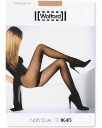 Wolford | Individual 10 Nylon-blend Tights | Lyst