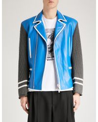 Undercover - All Access Leather Jacket - Lyst