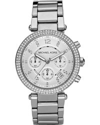 Michael Kors - Mk5353 Parker Stainless Steel Watch - Lyst