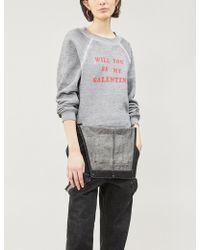 Wildfox - Be My Galentine Jersey Sweatshirt - Lyst