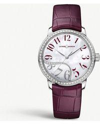 Ulysse Nardin - 8153201b6006 Classico Jade Stainless Steel And Diamond Watch - Lyst