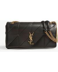 Saint Laurent - Ladies Black Jamie Monogram Leather Shoulder Bag - Lyst