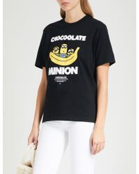 Chocoolate - Minion-print Cotton-jersey T-shirt - Lyst