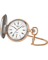 Tissot - T83.8.553.13 Savonnette Pocket Watch - Lyst