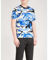 Sandro - War Cotton-jersey T-shirt - Lyst