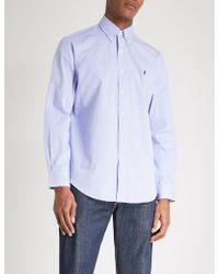 Polo Ralph Lauren - Regular-fit Single-cuff Striped Cotton Shirt - Lyst