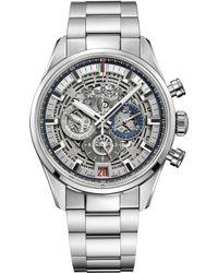 Zenith - 03.2081.400/78.m2040 Chronomaster El Primero Full Open Stainless Steel Watch - Lyst