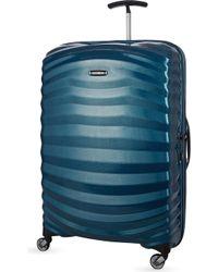 Samsonite - Lite-shock Spinner 75 Four-wheel Suitcase - Lyst