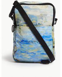 Off-White c/o Virgil Abloh - Lake-print Shell Cross-body Bag - Lyst