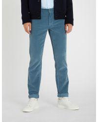 Ferragamo - Regular-fit Corduroy Trousers - Lyst