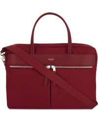 Knomo - Mayfair Hanover Slim Nylon Briefcase - Lyst