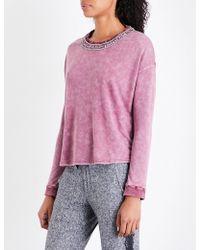The Kooples Sport - Tie-dye Jersey Sweatshirt - Lyst