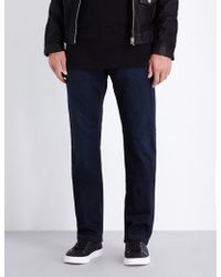 PAIGE - Normandie Slim-fit Straight Jeans - Lyst