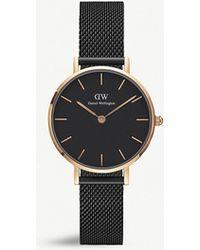 Daniel Wellington - Dw00100245 Ashfield Petite Rose Gold-plated Watch - Lyst