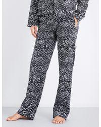 Les Girls, Les Boys - Star-print Cotton Pyjama Trousers - Lyst