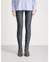 Zadig & Voltaire - Eva Brut Slim-fit Mid-rise Jeans - Lyst