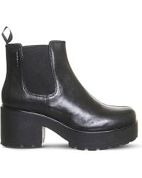 Vagabond - Dioon Chunky Leather Chelsea Boots - Lyst