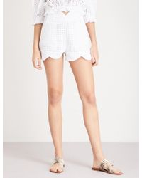 Paper London - Fraise Cotton Shorts - Lyst