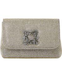 Dune - Beston Suede Embellished Handbag - Lyst