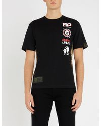 Aape - Tee Badges Front - Lyst