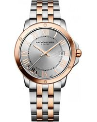 Raymond Weil - 5591-sb5-00658 Tango Stainless Steel And Rose Gold-plated Watch - Lyst