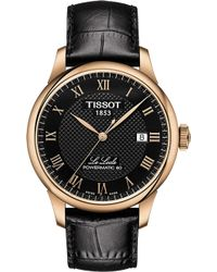 Tissot - T006.407.36.053.00 Le Locle Gold-plated Watch - Lyst