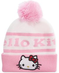 Gcds | Hello Kitty Knitted Beanie | Lyst