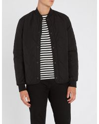 PS by Paul Smith - Quilted Shell Bomber Jacket - Lyst