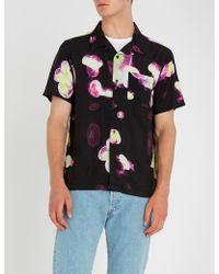 Stussy - Jellyfish-print Woven Shirt - Lyst