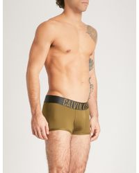 CALVIN KLEIN 205W39NYC - Intense Power Slim-fit Microfibre Trunks - Lyst