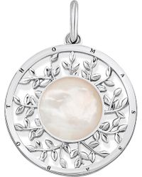 Thomas Sabo - Tree Of Love Sterling Silver And Mother-of-pearl Pendant - Lyst