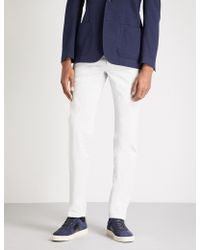 Corneliani | Regular-fit Stretch-cotton Chinos | Lyst