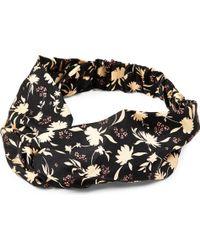 Beatrice Jenkins - Floral-print Silk-twill Headband - Lyst