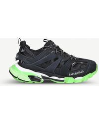cb63eac4a2 Balenciaga - Womens Track Nylon And Mesh Sneakers - Lyst