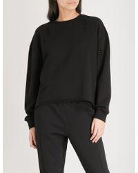 Izzue - Tron Cotton-blend Sweatshirt - Lyst
