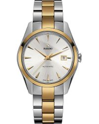 Rado - R32979112 Hyperchrome Stainless Steel And Yellow Gold Watch - Lyst